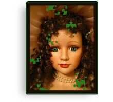 Doll Puzzle Canvas Print