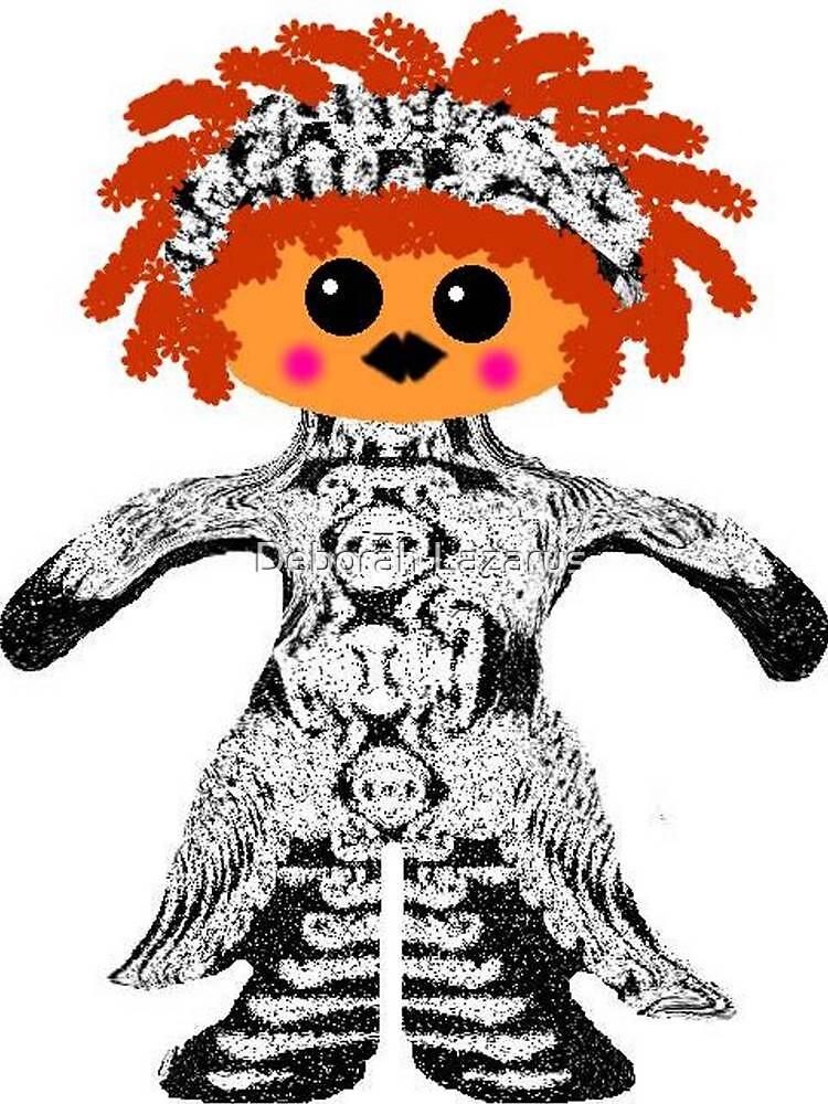 "My Little ""Voodoo Child"" Rag Doll by Deborah Lazarus"