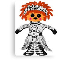 "My Little ""Voodoo Child"" Rag Doll Canvas Print"