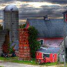 Old New England Farm by Monica M. Scanlan