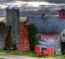 Old New England Farm by Monica M. Scanlan