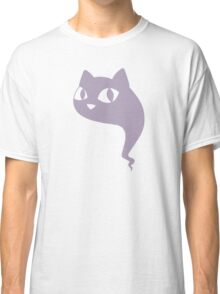Cat Ghost Purple Classic T-Shirt