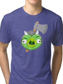 Angry Birds Vs. Gamorreans Tri-blend T-Shirt