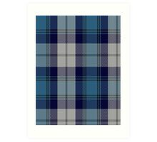 00368 Arran District Tartan  Art Print