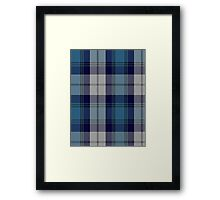 00368 Arran District Tartan  Framed Print