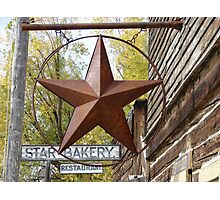 Star Bakery Photographic Print