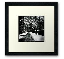 Snowy Fifth Framed Print