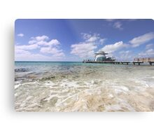 Docked at Grand Turk Metal Print