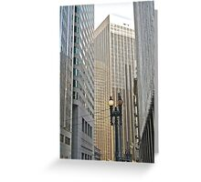 Downtown San Francisco Architecture, Jan. 2011 Greeting Card