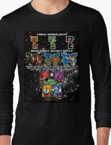 Anorak's Invitation - Ready Player One Long Sleeve T-Shirt