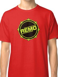 Green Black Remo In Drum Classic T-Shirt