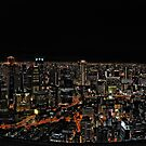 Umeda by Night by Christophe Mespoulede