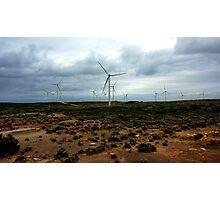 Cape Bridgewater Wind Turbines Photographic Print