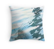 Roses, Ripples, Rope Throw Pillow