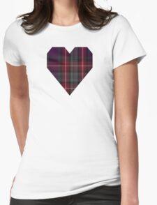 00370 Isle of Arran Fashion Tartan  Womens Fitted T-Shirt