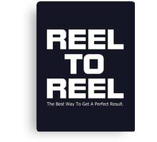Reel To Reel Canvas Print