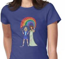 Dorothy and Ozma by Kevenn T. Smith Womens Fitted T-Shirt