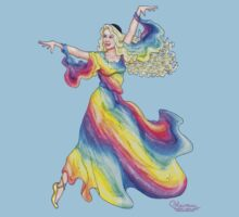 Polychrome the Fairy Daughter of the Rainbow by Kevenn T. Smith by KevennTSmith