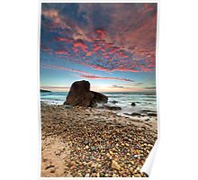 Hallet Cove Sunset Poster