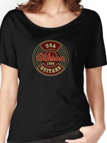 Vintage Gibson Guitars 1959 Women's Relaxed Fit T-Shirt