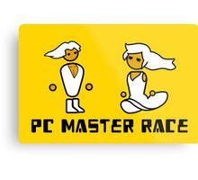 His and Her PCMR - PC Gaming Master Race Metal Print