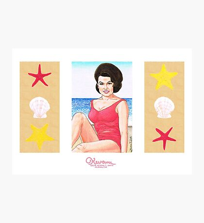 The Beach Blanket Queen by Kevenn T. Smith Photographic Print