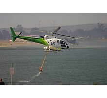 Fire Helicopters 'Black Sunday' Photographic Print