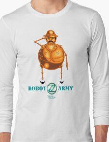 Tik-Tok:  Robot Army of Oz T-Shirt by Kevenn T. Smith Long Sleeve T-Shirt