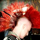 Red Mohawk by Melynda