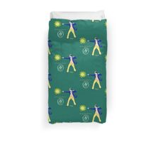 The Wonderful Wizard of Oz by Kevenn T. Smith Duvet Cover