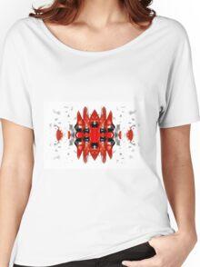 Sturt's Red Desert Pea Bold Women's Relaxed Fit T-Shirt