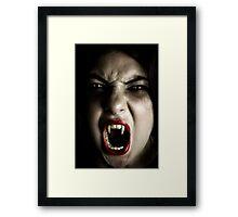 My Daughter The Vampire Framed Print