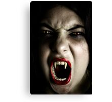 My Daughter The Vampire Canvas Print