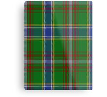 00372 Currie of Arran Clan/Family Tartan  Metal Print