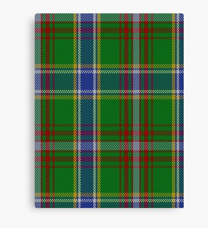 00372 Currie of Arran Clan/Family Tartan  Canvas Print