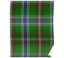 00372 Currie of Arran Clan/Family Tartan  Poster