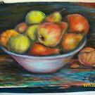 Abundance - a bowl of fresh fruit by Jagoda1955