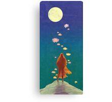 A Radiant Path Canvas Print