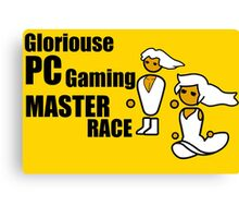 Gloriouse PC Gaming Master Race Canvas Print