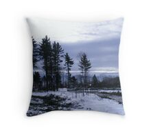 Logging Throw Pillow