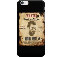 Wanted - Tom Brady - New England Patrots iPhone Case/Skin