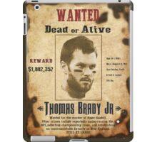 Wanted - Tom Brady - New England Patrots iPad Case/Skin