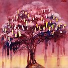 Prayer Tree II by Janet Chui