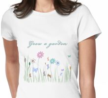 Grow a Garden T Shirt Womens Fitted T-Shirt