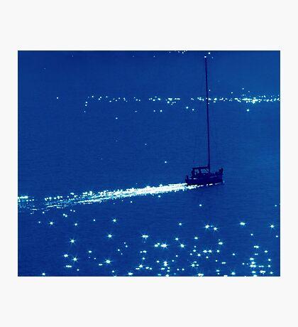 Sailing Through Stars Photographic Print