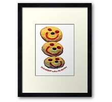 Friendship makes ME Happy Framed Print