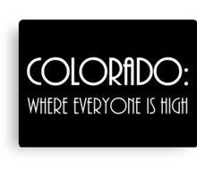 Colorado . . .  Canvas Print