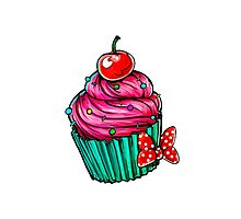 Cupcake - Single Photographic Print