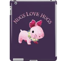 Nugs Love Hugs iPad Case/Skin