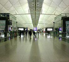Chek Lap Kok Airport by robigeehk